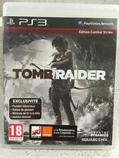 TOMB RAIDER. JEUX PS3 AVEC NOTICE PLAYSTATION
