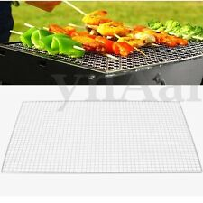 40x60Cm BBQ Barbecue Grill Cooker Replacement Stainless Steel Wire Mesh Outdoor