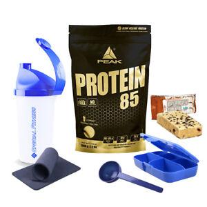 Peak Protein 85 Mehrkomponenten Eiweiß 1kg Beutel + BONUS wählbar