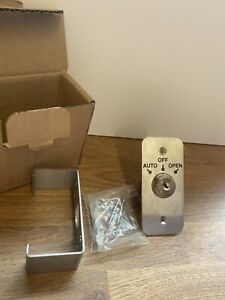 Automatic Door 3 Position Stainless Key Switch (Auto/Off/Open)
