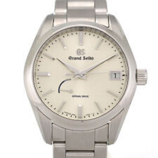 Free Shipping Pre-owned Grand Seiko SBGA283 9R65-0BH0 Silver Dial Watch