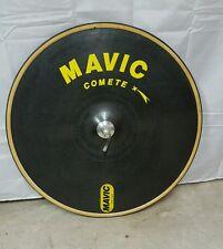 Vintage Mavic comet carbon fiber front Disc wheel 650cm