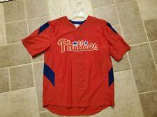 Majestic Jersey Philadelphia Phillies Youth 14/16 Utley #26 Jersey Boy's