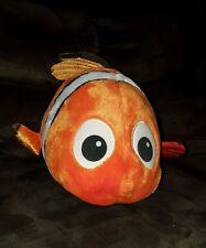 "Finding Nemo Clown Fish Large 17"" Disney Store Original Stuffed Plush Big Toy"