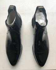 Gucci mens patent leather shoes, Size 7, point toe ankle boots