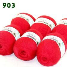 Sale 6 Skeins x50gr Soft Acrylic Cashmere Wool Stoles Hand Knit Crochet Yarn 903