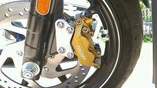 Harley davidson street 750 / street 500 4 piston front brake upgrade brackets