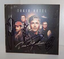 TOKIO HOTEL DREAM MACHINE CD NEUES ALBUM KOMPLETT SIGNIERT RAR BILL TOM SELTEN