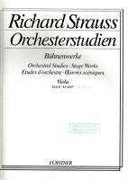 R.Strauss: Orchesterstudien für Viola. Bd.2. Bühnenwerke