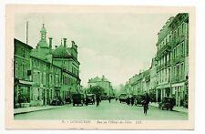 LONGUYON Meurthe et moselle CPA 54 rue de l'hotel de ville dans les années 1930