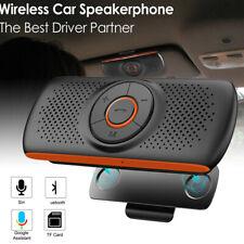 Wireless bluetooth Handsfree Speaker Phone Sun Visor Speakerphone MP3 Car Kit
