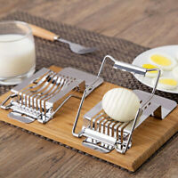 Fruit Egg Slicer Stainless Steel  Lightweight Strawberry Cutter Kitchen Tool