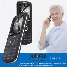 Unlocked Senior Old Man Mobile Phones Dual SIM GSM 2G GPS Cell Phone Flashlight