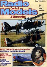RADIO CONTROL MODELS & ELECTRONICS MAGAZINE 1984 JUL PETER PILLER'S PEE-TEE