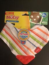 Nuby Unisex Teething Bib