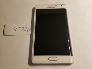 Samsung Galaxy Note Edge SM-N915A - 32GB - White (AT&T) (4772B)