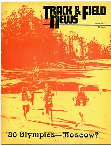 1973 Track and Field News 1980 Moscow Olympics Dave Wottle Craig Virgin