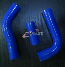 BLUE for Toyota Hilux LN106 / LN111 / LN107 / LN130 2.8 silicone radiator hose