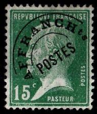 Pré-oblitéré : PASTEUR 15c vert, Neuf * = Cote 35 € / Lot Timbre France n°65