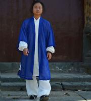 China Wudang Taoist robe Martial arts kung Fu performance uniforms Tai Chi veil