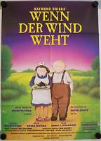 Wenn der Wind weht When the Wind Blows Filmposter A1 David Bowie Anime Atombombe