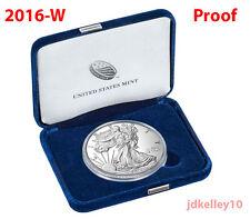 2016-W Proof American Silver Eagle One Ounce Coin - 30th Anniversary w/Box & COA