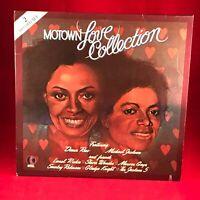 VARIOUS ARTISTS Motown Love Collection 1984 USA Double Vinyl LP Michael Jackson