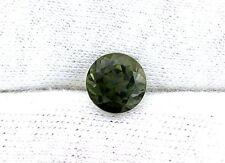 1.85 Carat 7.5mm Natural Round Brazilian Green Tourmaline Gem Stone Gemstone