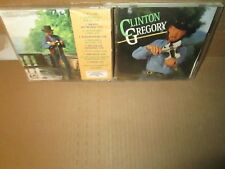 CLINTON GREGORY - SELF TITLED rare Country cd Fiddle (Polydor) 11 songs 1995