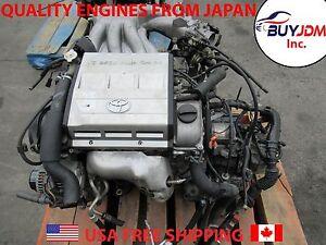 94-01 Toyota Camry Lexus 2MZ-FE V6 Engine ES300 Solara 2.5L Engine Avalon 2mzFe