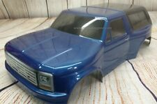 Custom Painted Body 1981 Ford Bronco For 1/10 RC Short Course Truck Slash SC10
