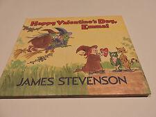 HAPPY VALENTINE'S DAY EMMA! James Stevenson 1st-GB-HC 1988 witch witches COMIC