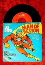 Single Les Reed: Man of Action (Kennmelodie der deutschen DJ-Organisation)