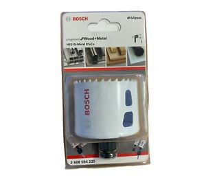 "Bosch 64mm 2½"" Holesaw Cutter  HSS Bi-Metal  Wood Quick Change Hole Saw"