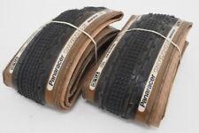 Panaracer Gravel King SK Bicycle Tires (Pair - 2) 700x35c Tanwall TLC Folding