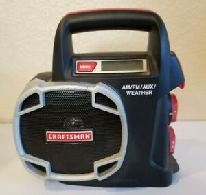 Craftsman 19.2 Volt AM/FM/AUX/WeatherRADIO Only Battery Not Included 315.101260