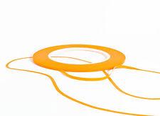 Zierlinienband Fineline Konturenband Klebeband 12 mm x 55 m für Autolack orange