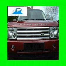 03-13 RANGE ROVER CHROME GRILLE TRIM 04 05 06 07 08 09 10 11 12 2013