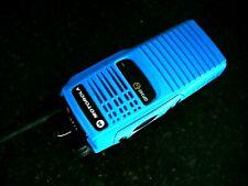 Motorola GP340 ex. I.S. ATEX Vhf Azul Profesional Radio de dos vías Walkie Talkie