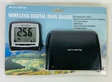Acurite Wireless Digital Rain Gauge Model 00896 New Open Box