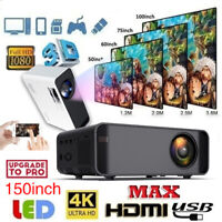 US 3500 Lumens 1080P 3D LED 4K Wifi Video Home Theater Projector Cinema HDMI