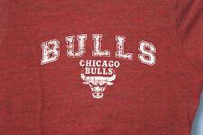 Chicago Bulls Derek Rose 1 Red Ladies Juniors Fit T-Shirt NBA Size L