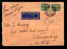 Netherlands 1941 Censor Cover / 40+5c Overprints - L9719