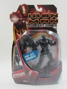 Marvel Iron Man Concept Series Iron Man Stealth Striker Armor Hasbro 2008