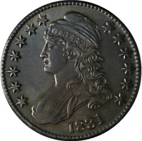 1831 Bust Half Dollar AU/BU Details 0-119 R.3 Superb Eye Appeal Nice Strike