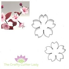 Cherry Blossom Cutter Set for Sugarcraft Flowerpaste Craft and Cake Decoration