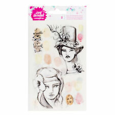 Jane Davenport Rub-On Transfer Sheets, Neutrals 2 Sheets 376688 NEW