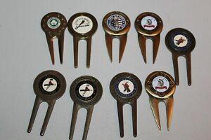 Lot 9 USGA US Open Golf Marker Divot Tool