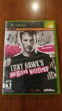Tony Hawk's American Wasteland (Microsoft Xbox, 2005) VERY GOOD COMPLETE!