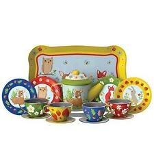 Forest Friends Tea Time Toys Dishes Cups Kids Animals Play15 Piece Toddler New